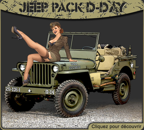 jeep military pack dday