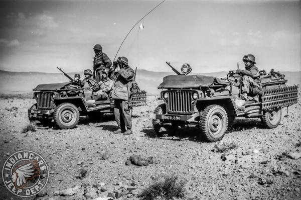 jeep armée