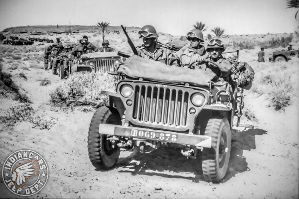 jeep désert