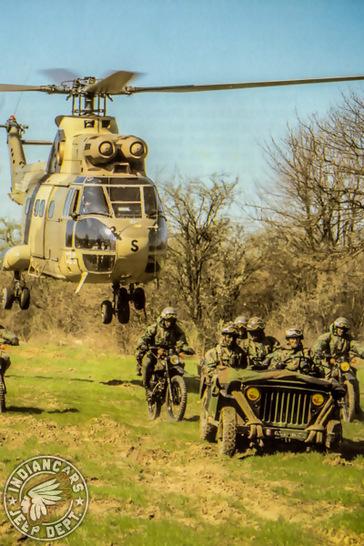 jeep m201 hélicoptère