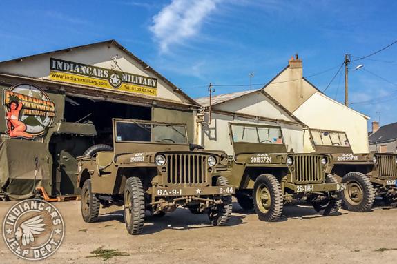 Vente jeep military