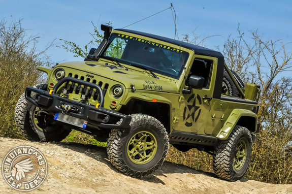 Jeep wrangler pickup 07