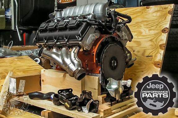 moteur v8 jeep