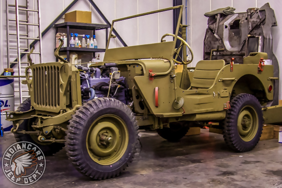 jeep ford GPW restoration