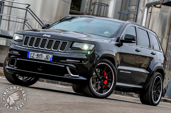 jeep grand cherokee srt 08