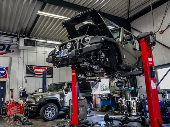 réparation jeep