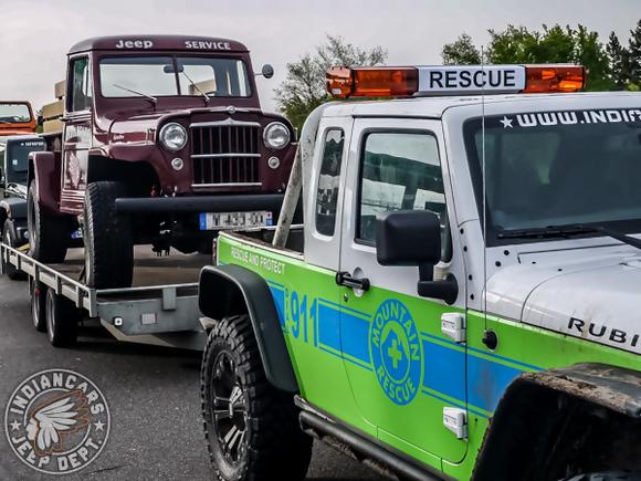 remorquage jeep