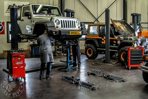 Atelier indiancars JEEP