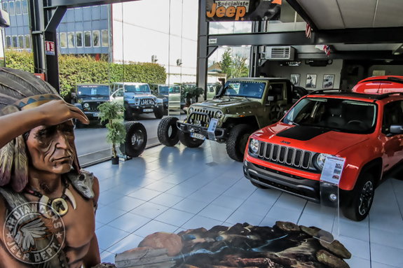 Showroom jeep