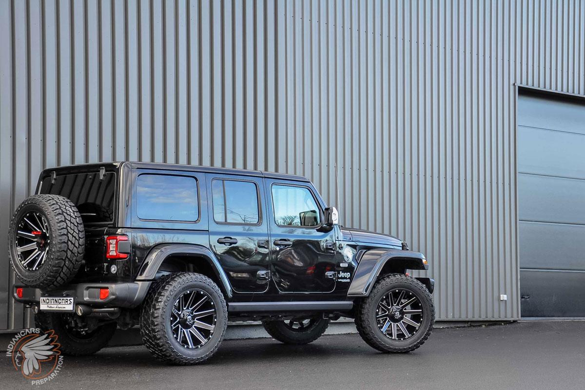 Jeep wrangler préparation 4x4 voyage