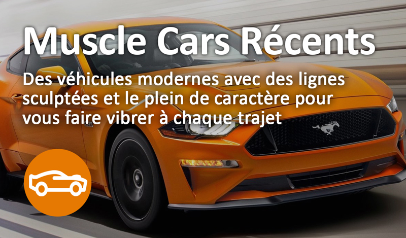Muscle-car-moderne