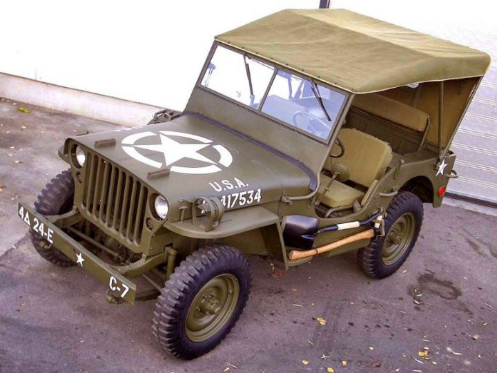 Jeep Willys M201 PACK US - 1