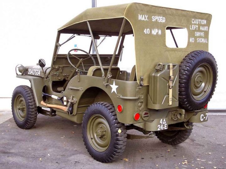 Jeep Willys M201 PACK US - 4
